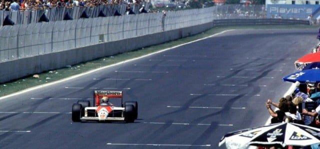 Senna vence no Canadá em 1988